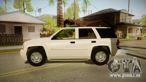 Chevrolet Trail Blazer für GTA San Andreas linke Ansicht