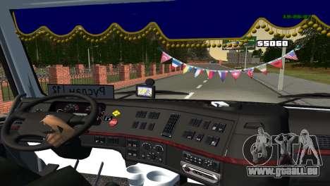 Volvo VNL 670 für GTA San Andreas Rückansicht