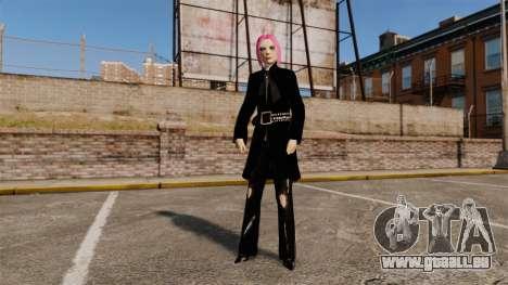 Zum Anziehen des Mädchens Nico für GTA 4
