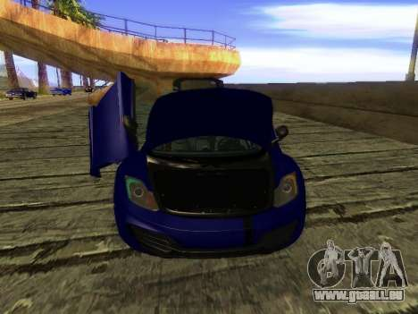 McLaren MP4-12C WheelsAndMore für GTA San Andreas Motor