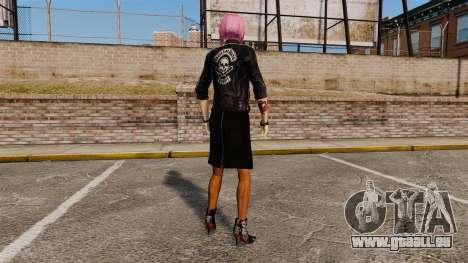 Zum Anziehen des Mädchens Nico für GTA 4 weiter Screenshot