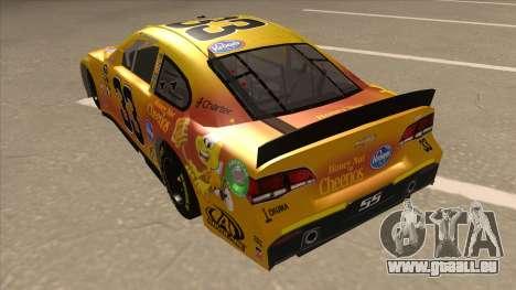 Chevrolet SS NASCAR No. 33 Cheerios pour GTA San Andreas vue arrière