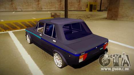 Zastava 128 IAVA pour GTA San Andreas vue arrière