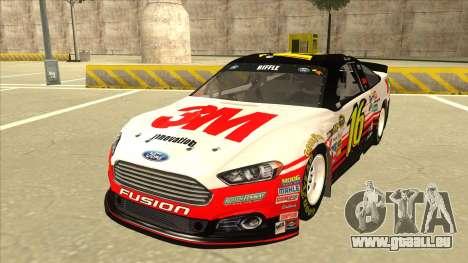 Ford Fusion NASCAR No. 16 3M Bondo für GTA San Andreas