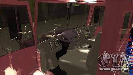 Mrecedes-Benz LS 2638 Canaviero pour GTA San Andreas vue de droite