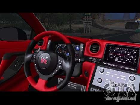Nissan GT-R Egoist v2 pour GTA San Andreas vue de droite