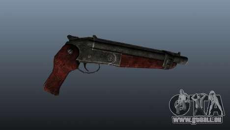 Fusil à canon scié v2 pour GTA 4 troisième écran