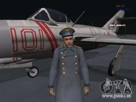 Colonel général de la force aérienne soviétique pour GTA San Andreas