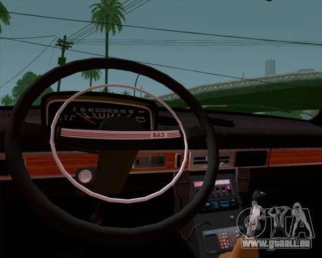 VAZ 21011 Police pour GTA San Andreas vue de droite