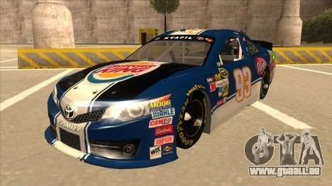 Toyota Camry NASCAR No. 93 Burger King Dr Pepper für GTA San Andreas