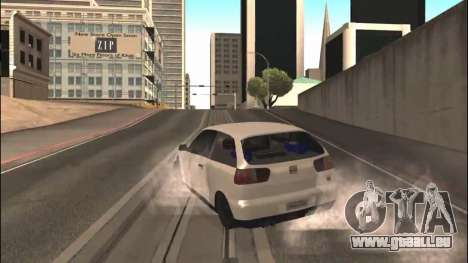 Seat Ibiza Cupra R 1.8 20V 2002 pour GTA San Andreas vue de droite
