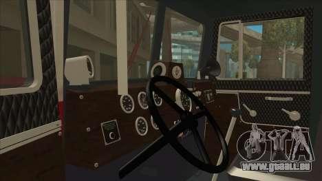 Hayes camion H188 pour GTA San Andreas vue de droite
