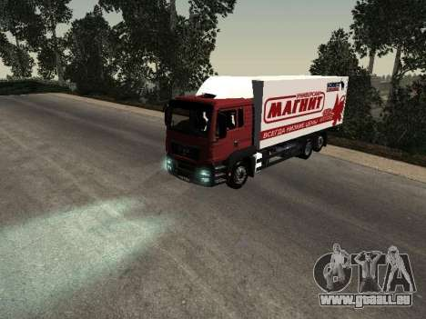 MAN TGA 26350 Magnet für GTA San Andreas