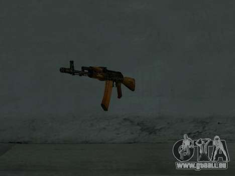 AK-74 für GTA San Andreas zweiten Screenshot
