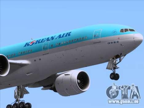 Boeing 777-2B5ER Korean Air für GTA San Andreas Motor