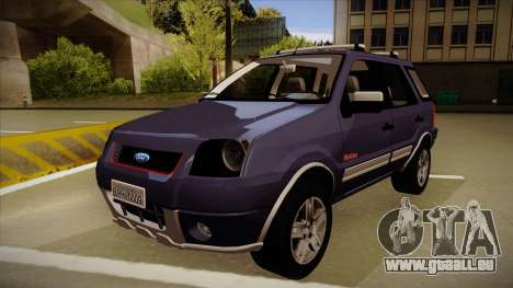 Ford Ecosport FreeStyle 2007 für GTA San Andreas