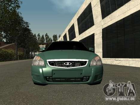 VAZ-2172 pour GTA San Andreas vue arrière