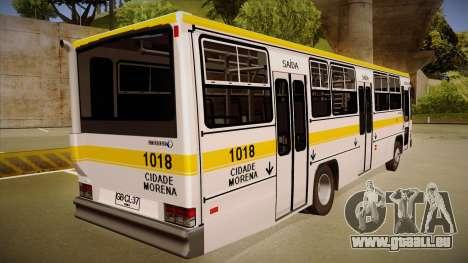 Caio Vitoria MB OF 1318 Cidade Morena pour GTA San Andreas vue de droite