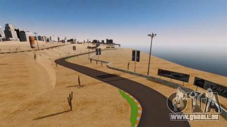 Emplacement DesertDrift ProStreetStyle pour GTA 4 cinquième écran