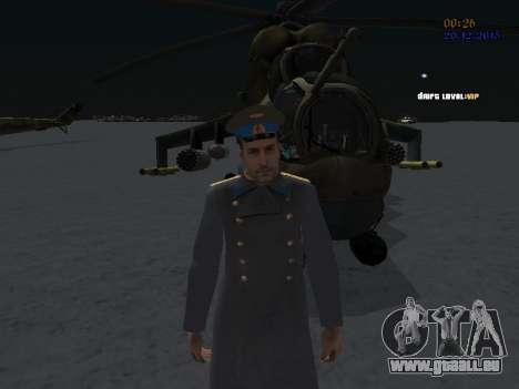Colonel général de la force aérienne soviétique pour GTA San Andreas deuxième écran