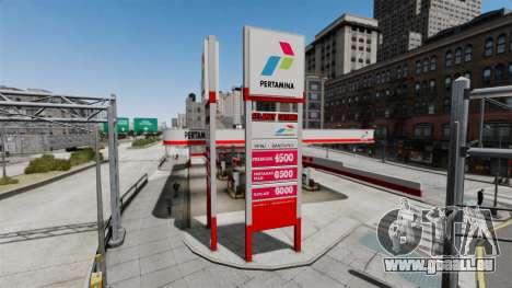 Pertamina Tankstelle für GTA 4