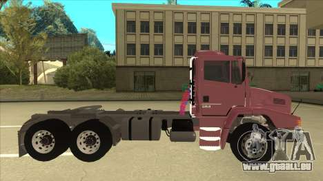 Mrecedes-Benz LS 2638 Canaviero pour GTA San Andreas laissé vue