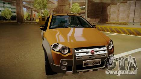 FIAT Palio Weekend Adventure Locker 2010 pour GTA San Andreas laissé vue