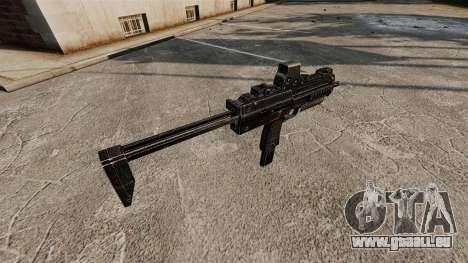 HK MP7 mitraillette v2 pour GTA 4 quatrième écran