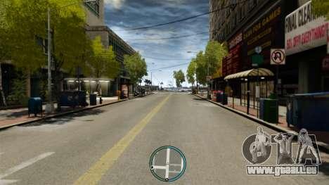 Die zentrale Lage des Radars für GTA 4 dritte Screenshot