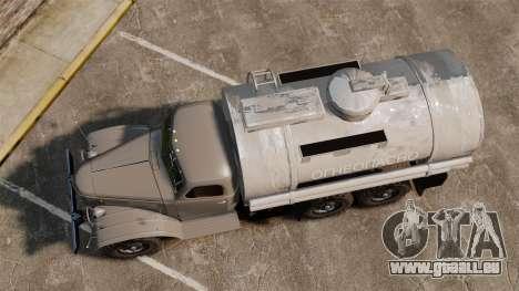 LKW ZIL-157 für GTA 4 rechte Ansicht