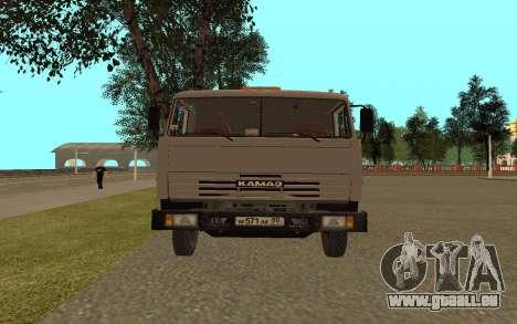 Camions KAMAZ 53115 pour GTA San Andreas vue de droite