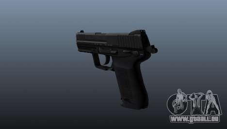 Pistolet HK45C v1 pour GTA 4 secondes d'écran