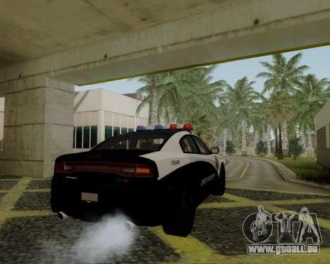 Dodge Charger 2012 Police IVF pour GTA San Andreas laissé vue