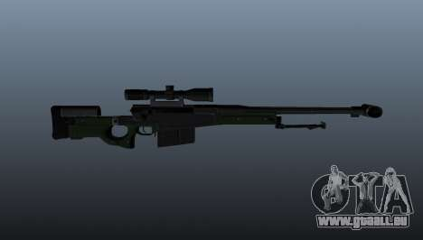 AW50F Scharfschützengewehr für GTA 4 dritte Screenshot