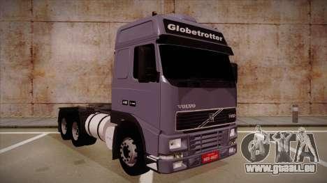 Volvo FH12 Globetrotter pour GTA San Andreas laissé vue