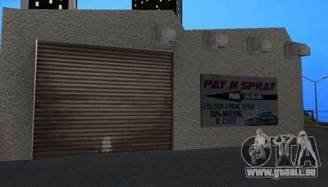 Wang Cars pour GTA San Andreas cinquième écran