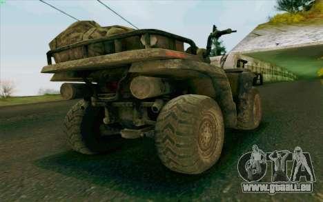 VTT de la Medal of Honor pour GTA San Andreas laissé vue