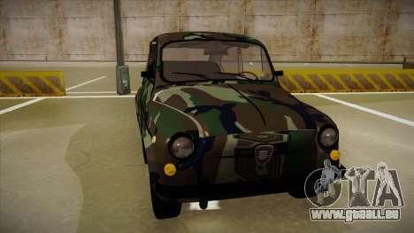 Zastava 750 Camo pour GTA San Andreas laissé vue