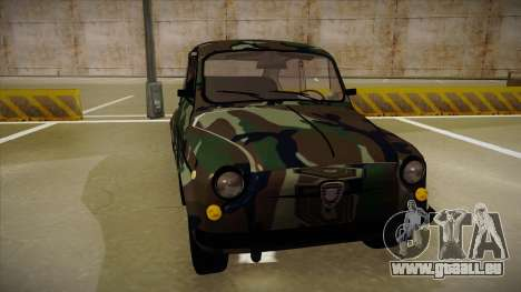 Zastava 750 Camo für GTA San Andreas linke Ansicht