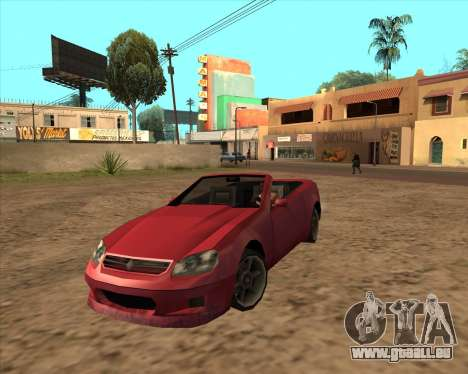 Feltzer bienfaiteur de GTA 4 pour GTA San Andreas
