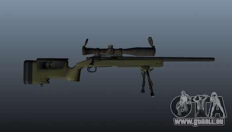 Fusil de sniper M40A3 pour GTA 4 troisième écran