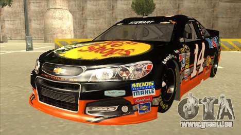 Chevrolet SS NASCAR No. 14 Mobil 1 Bass Pro Shop pour GTA San Andreas