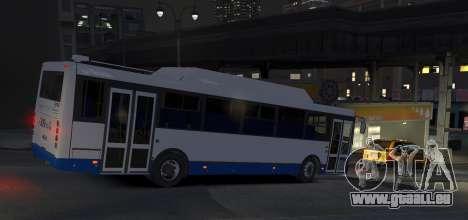 LIAZ 5256.57-01 2013 pour GTA 4 Vue arrière de la gauche