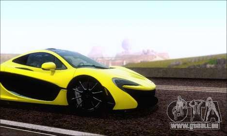 McLaren P1 EPM pour GTA San Andreas laissé vue