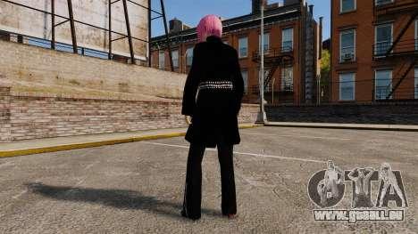 Nouveaux vêtements Nico de la jeune fille pour GTA 4 secondes d'écran