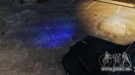 Phares bleus pour GTA 4 secondes d'écran
