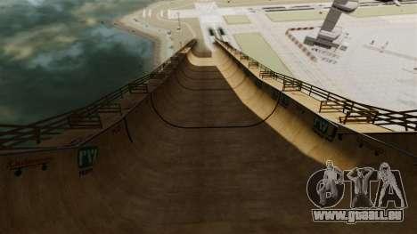Piste de rampe pour GTA 4 quatrième écran