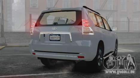 Toyota Land Cruiser Prado 150 für GTA 4 hinten links Ansicht