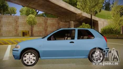 FIAT Palio EX 2003 für GTA San Andreas zurück linke Ansicht