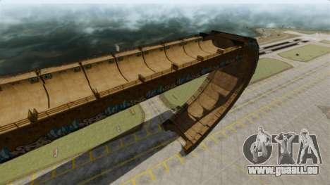 Piste de rampe pour GTA 4 troisième écran